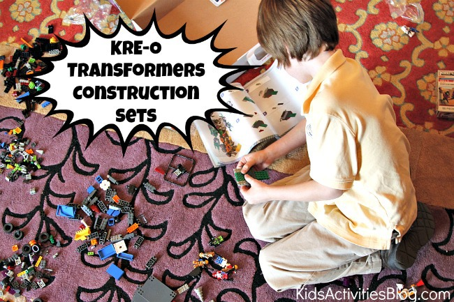 KRE-O Transformers Construction Sets Build vehicles and robots with same set of blocks