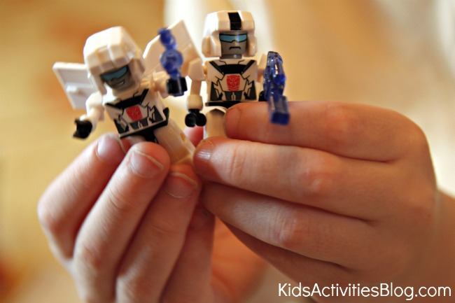 KREON figures from KRE-O Transformers