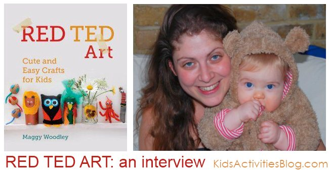 Cool Kids Craft Blog with lots of kids activities: Red Ted Art