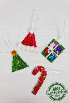Christmas Activity: Tin Foil DIY Ornaments