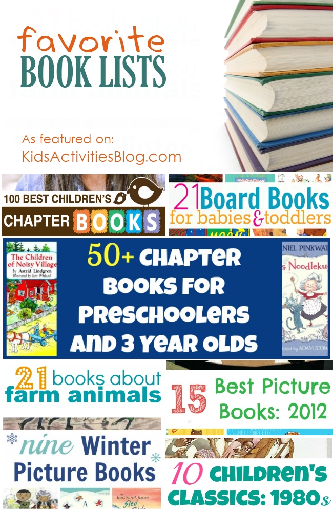 Kids Activities Blog's: favorite book lists