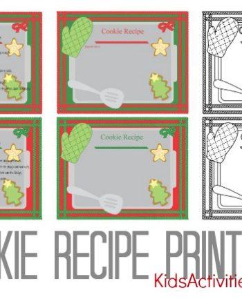 recipe chocolate chip cookie printable