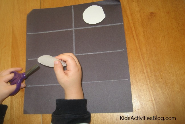 moon phases for kids chart