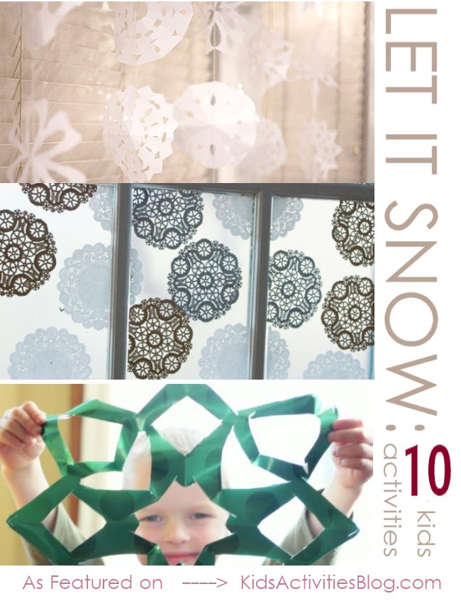10 Fun activities for kids to do - celebrating winter/snow