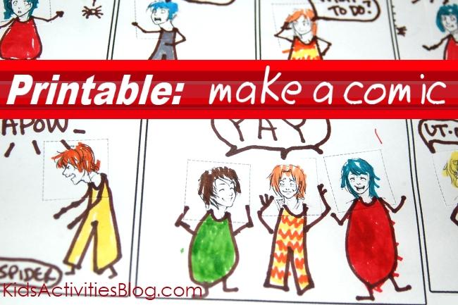 be a comic
