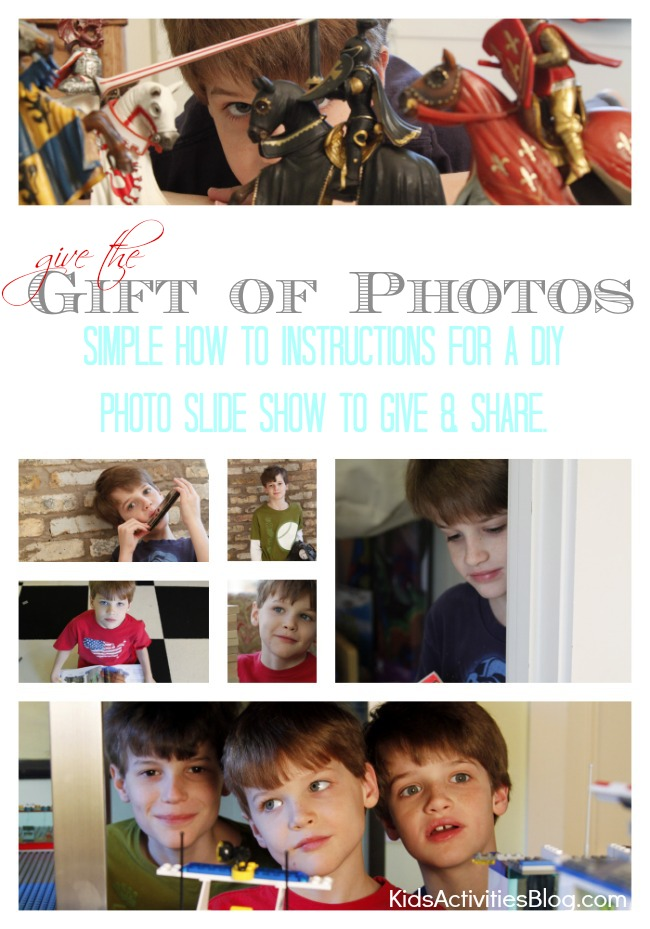 make a slide show as a gift to share