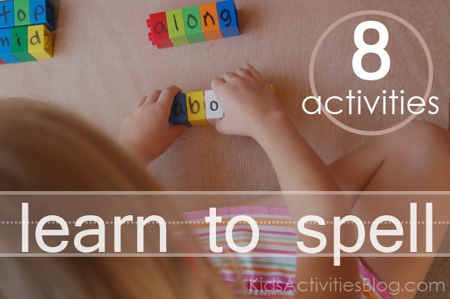 8 {FUN} spelling games for kids to play and learn