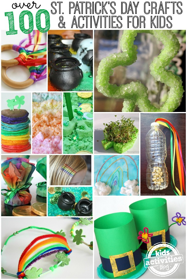 100 St Patricks Day Crafts and Activities For Kids from the Kids Activities Blog