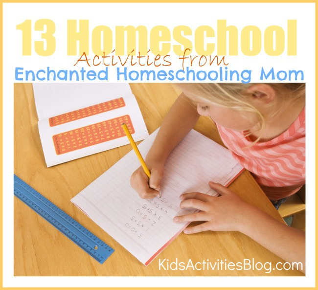 Elementary Home school Lesson Plans - 13 fun ideas for homeschool activities