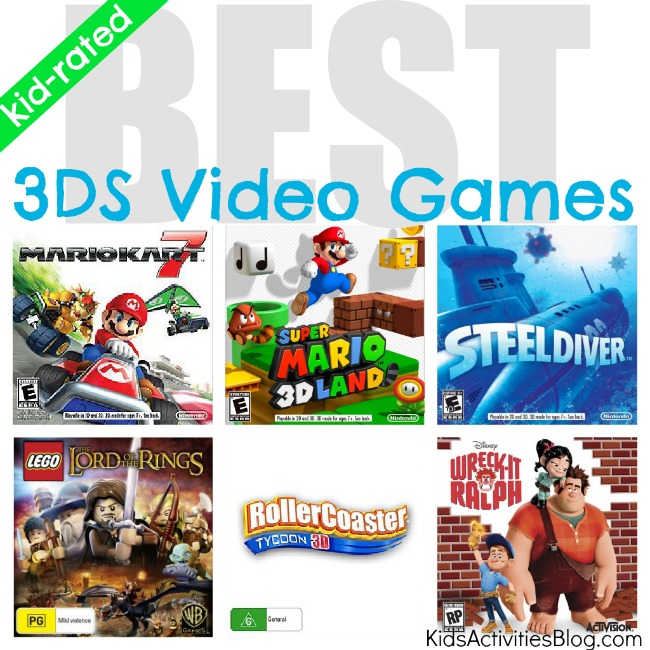 Best 3DS Games for Kids