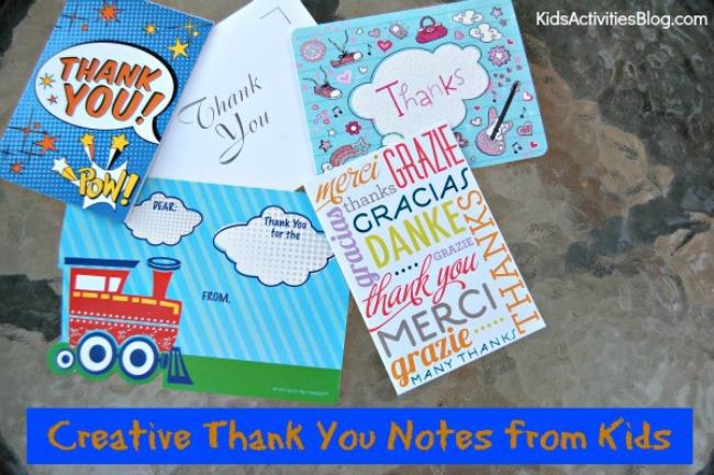 Kids can show thankfulness and gratitude in these fun and creative ways