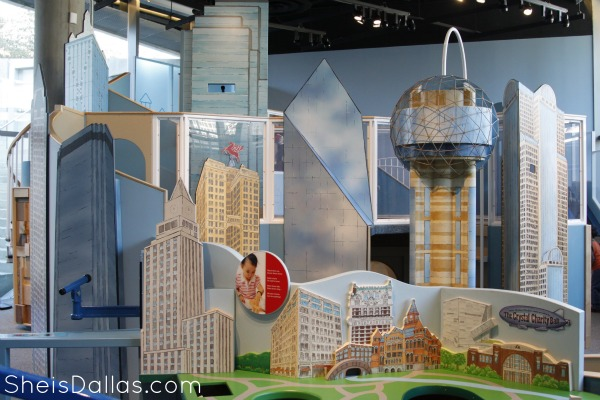 Dallas Children's Museum Skyline