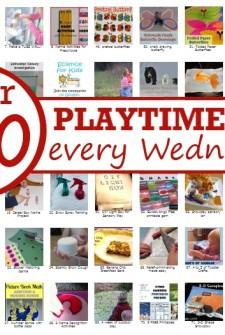 It's Playtime - every week 100+ ids activities are linked up in this kids meme.