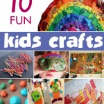 10 Fun Kids Craft Ideas and activities for your child #ece