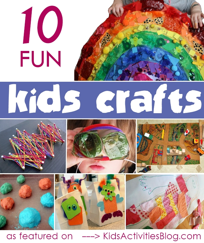 10 fun kids craft ideas and activities for your child ece for 101 crazy crafting ideas