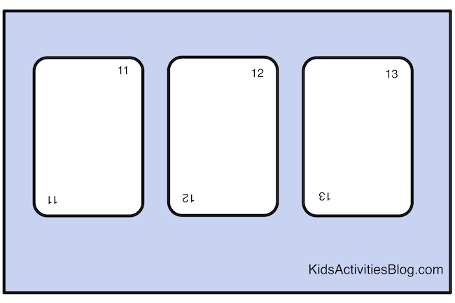Use a deck of cards to teach symmetry - math for kids