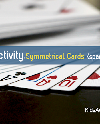 Playing cards are a fun way to teach math for kids!
