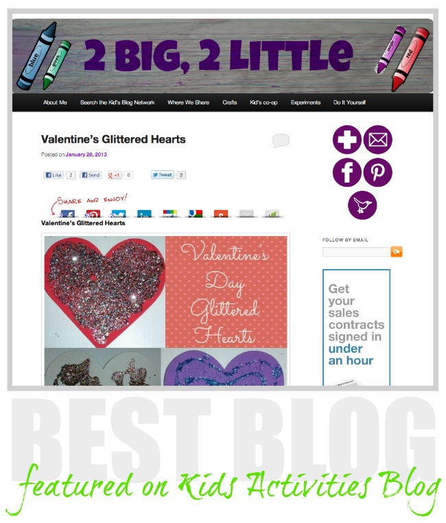 Two big Two Little blog