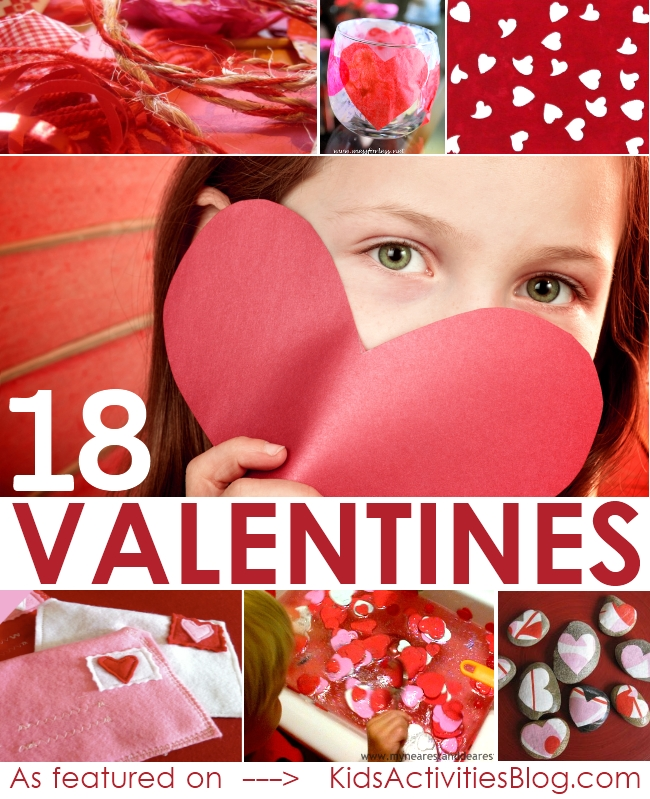 18 Valentine Crafts for Kids