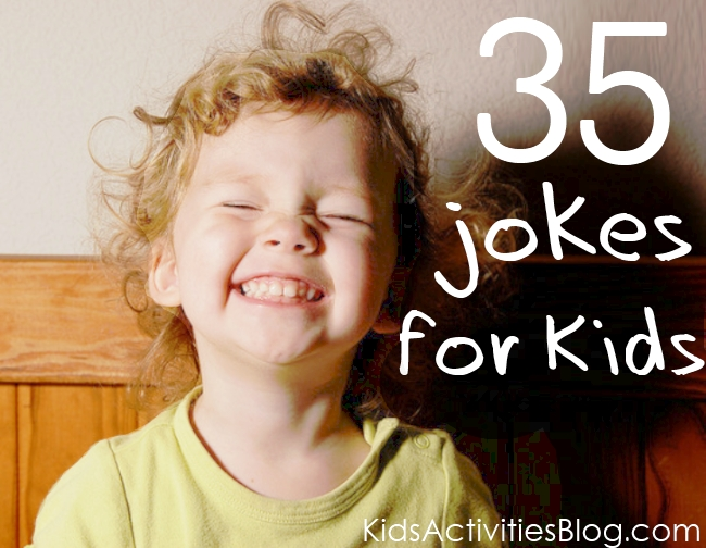 35 of the best jokes for kids - little girl laughing