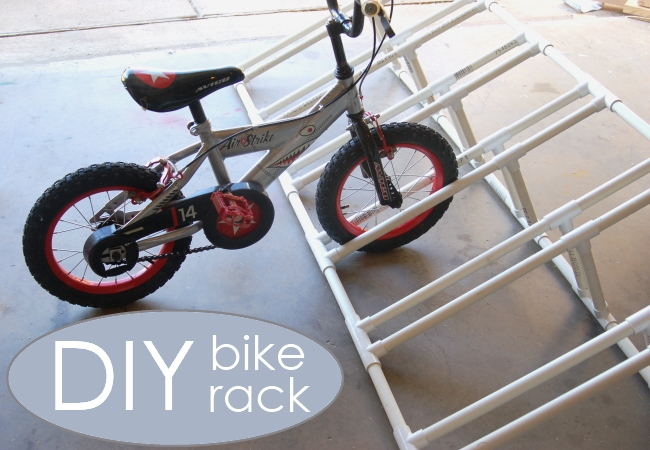 How to make a bike rack for kids