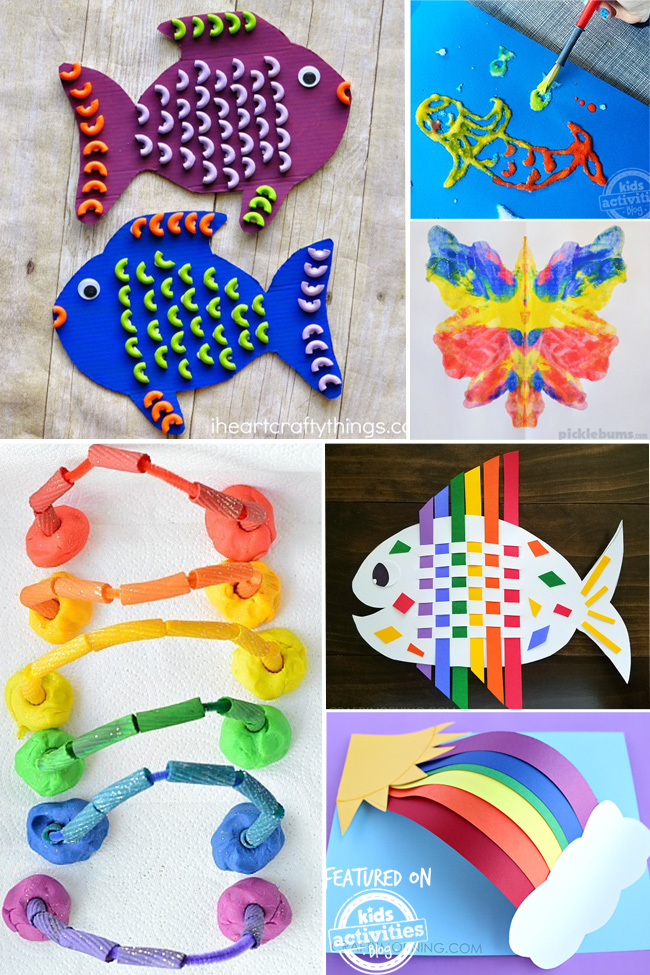 Ideas For Kids Bedroom: 25+ Colorful Kids Craft Ideas