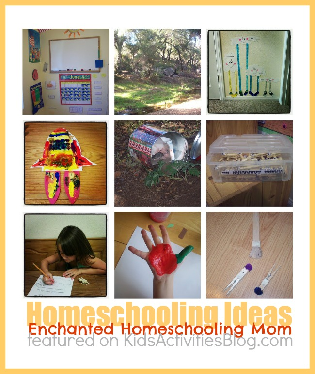 Lesson Plans from Enchanted Homeschooling Mom for Elementary Home School