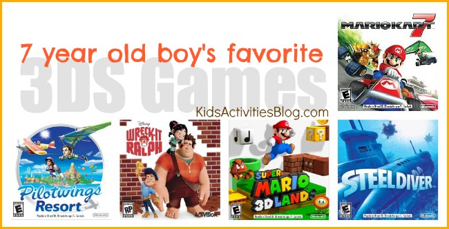 favorite video games 7 year old