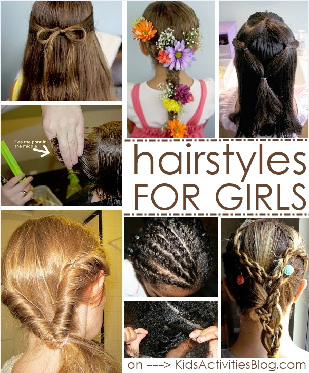 8 hairstyles for girls