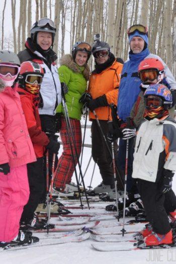 is snowboarding hard - ski group