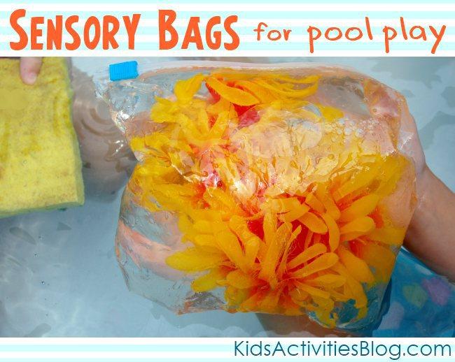Fun pool games for the kiddie pool {Pool Play}