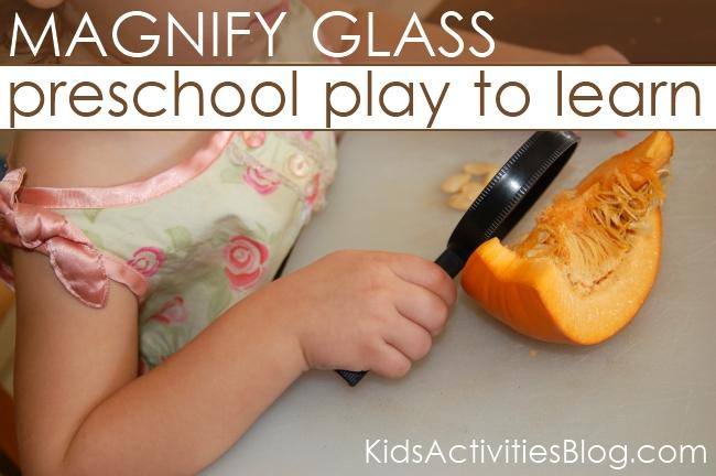 pumpkin preschool learning activity