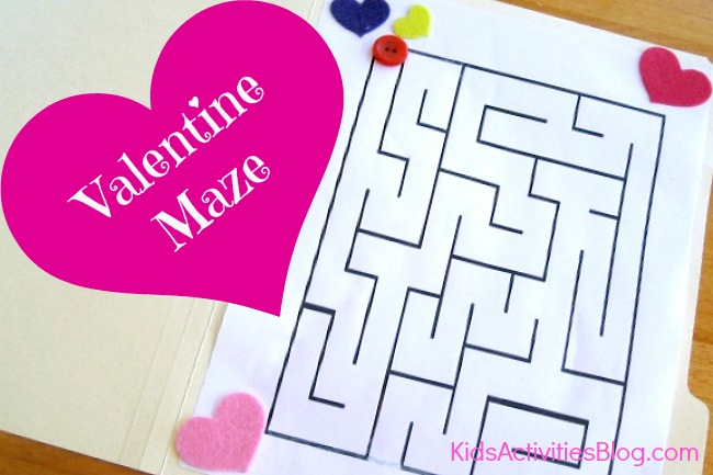 Valentine activity for kids