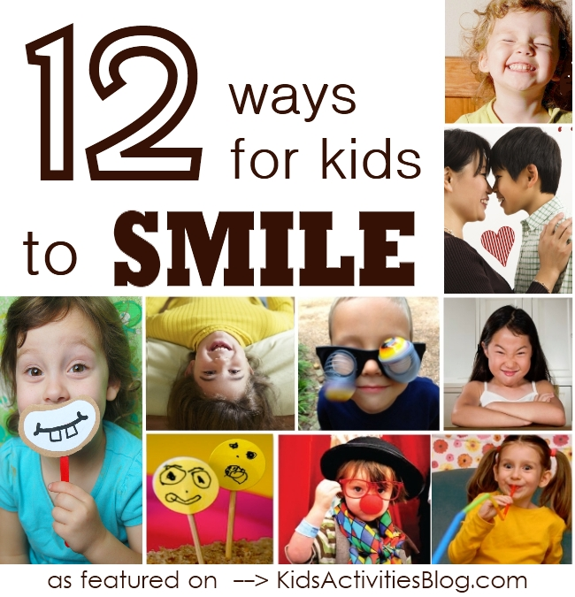 How To Smile 12 Activities Make Kids Hy