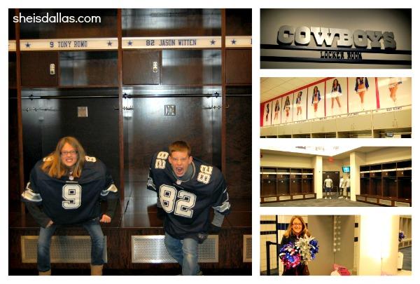 Cowboys Stadium Locker room sid