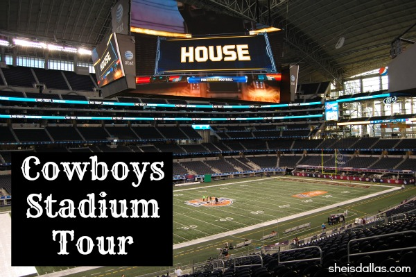 Cowboys Stadium Tour sid