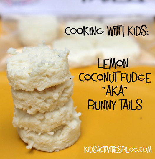 Bunny Tails are a yummy Easter treat that kids can make!