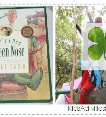If Only I Had A Green Nose {Fun Reading Activities for Kids}