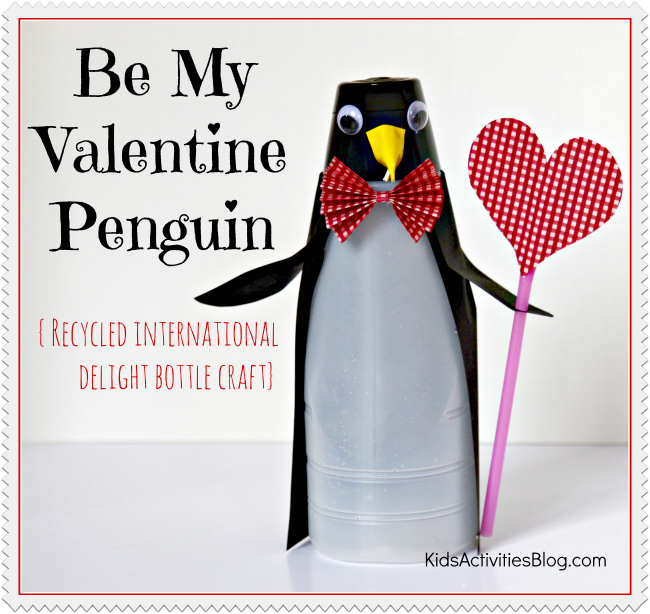 Recycled Valentine Craft - International Delight