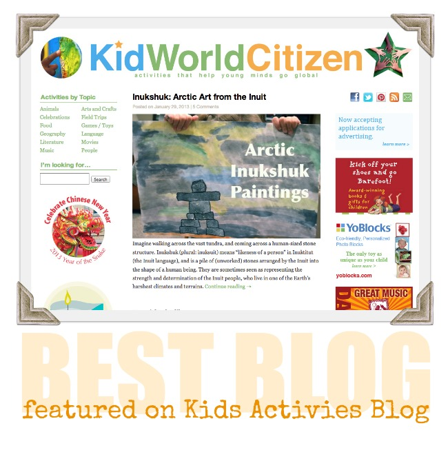Kid World Citizen Best Blog