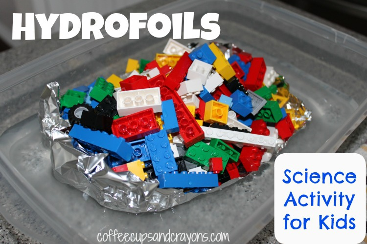 A physics project for kids using LEGOs  - 10 Fun LEGO Science Activities