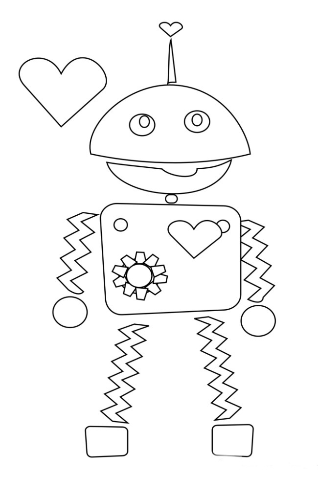 valentine coloring pages by numbers - photo #50