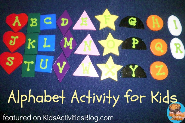 learning letters alphabet activities