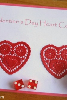 Math Games for Valentines Day {Counting Game}