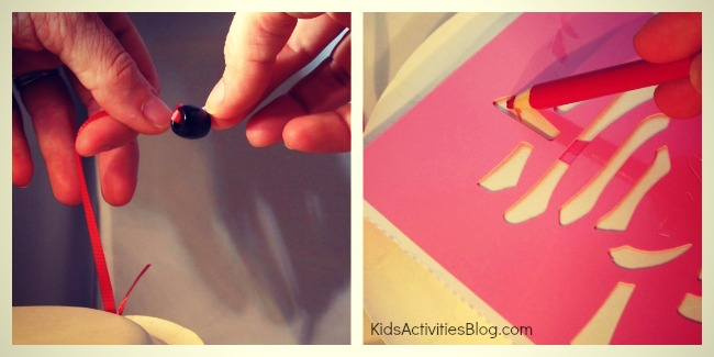 Make a drum for the Chinese Lunar New Year {craft for kids}