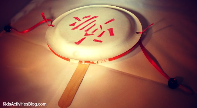 Kids can celebrate the Chinese Lunar New Year as they make a drum