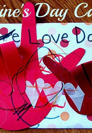 These super cute Valentines cards are easy for kids to make! I love you cards