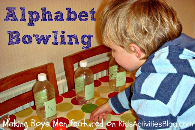 letter game - alphabet activities