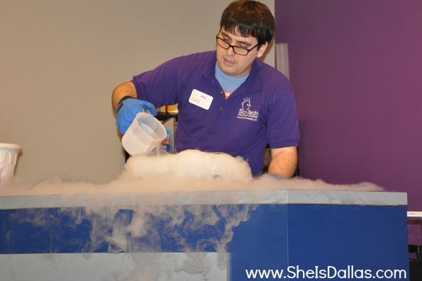 liquid nitrogen at sci-tech discovery center