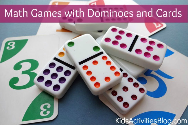 math worksheet : cool math games dominoes and a deck of cards : Domino Math Games For Kindergarten